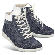 Helvesko Bequemschuh HANNA jeansblau